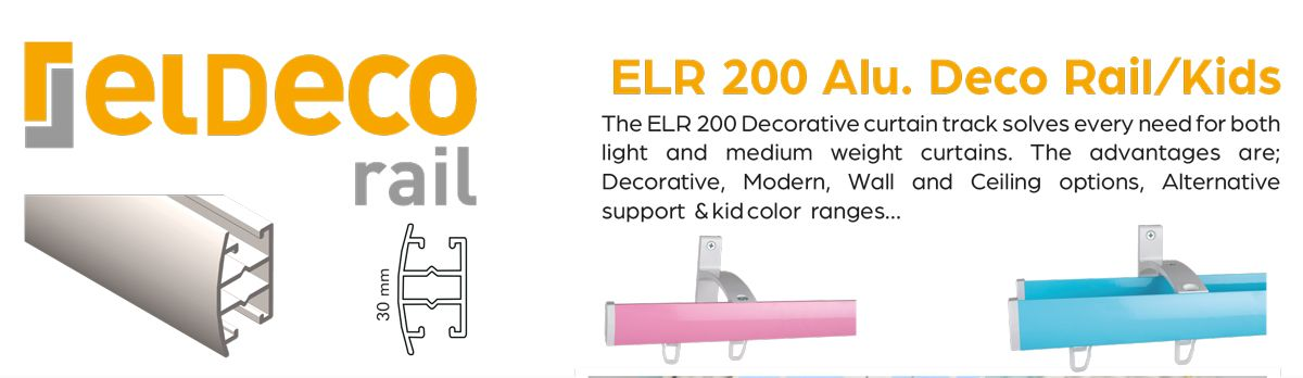 Decorative Curtain Rail ELR 2000