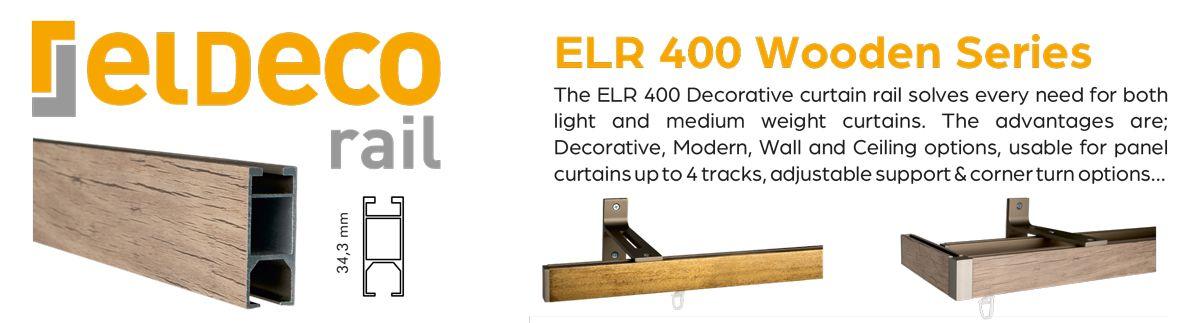 Decorative Curtain Rail ELR 2000