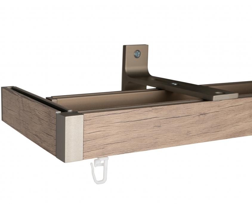 ELR 400 Wooden Rail with Corner option